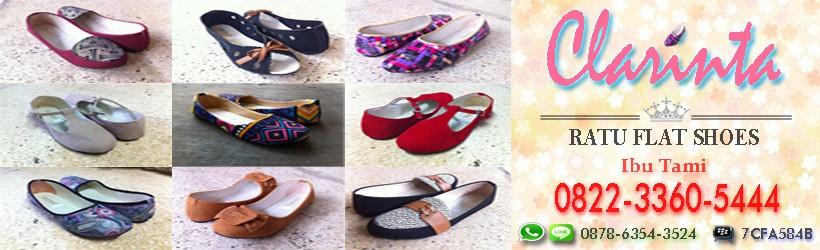 Flat Shoes Vintage Lucu